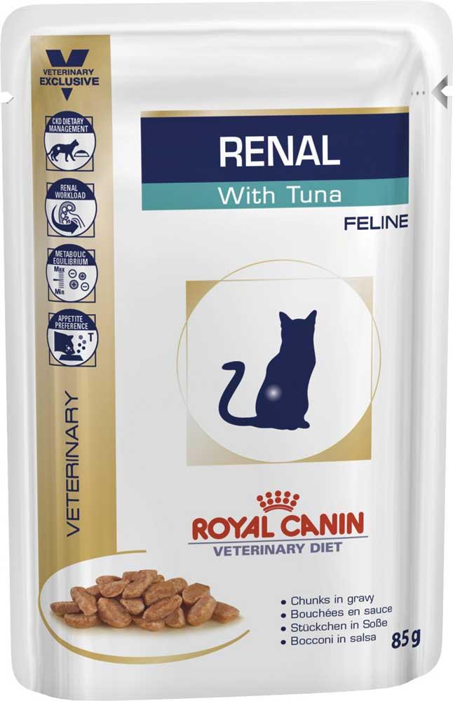 Royal Canin Renal Tuna - корм Роял Канин для кошек с почечной недостаточностью (85 г)